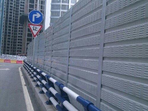 城市道路声屏障