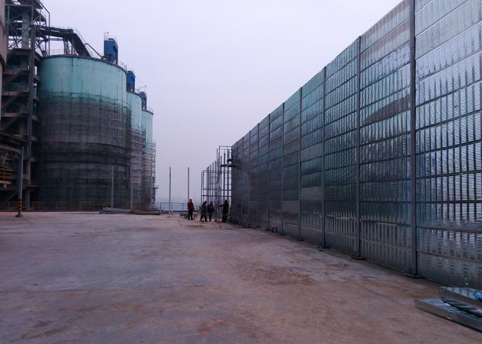 吕梁福龙水泥厂工程