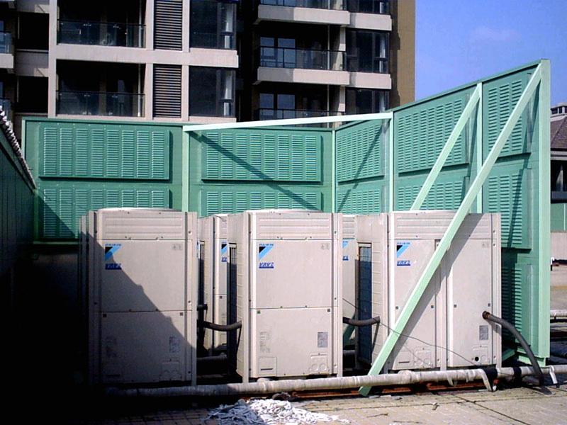 冷卻塔(空調機組)聲屏障